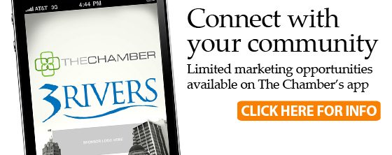 Marketing opportunities on The Chamber's app
